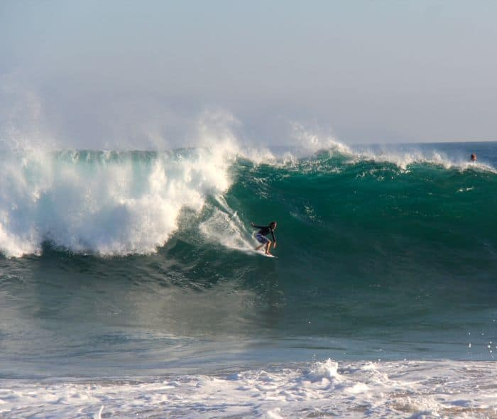 the Wedge in Newport Beach