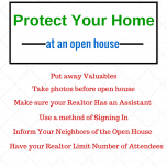 Protect Your Newport Beach Home at an Open House