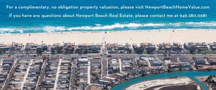 Newport Beach home value