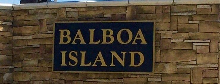 Balboa Island homes in Newport Beach