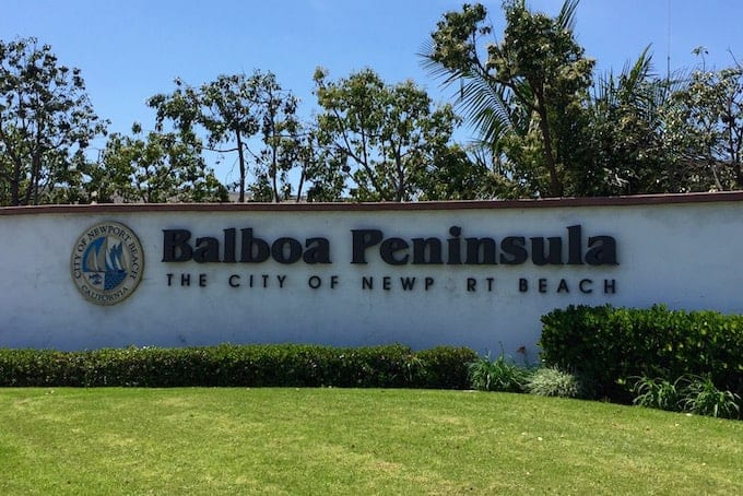 Balboa Peninsula Homes for Sale Newport Beach