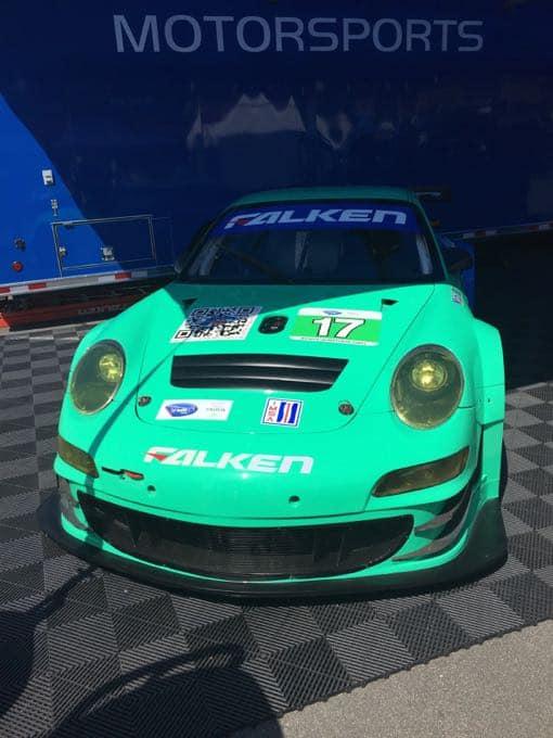 Falken Porsche Car