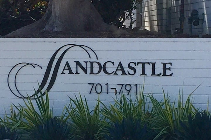 Sandcastle condos in Corona del Mar