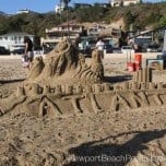 54th Annual Sandcastle Contest in Corona del Mar