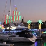 107th Newport Beach Christmas Boat Parade and Ring of Lights