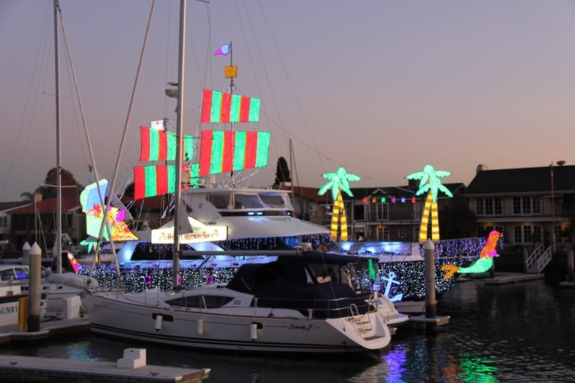 Newport Harbor Parade of Lights