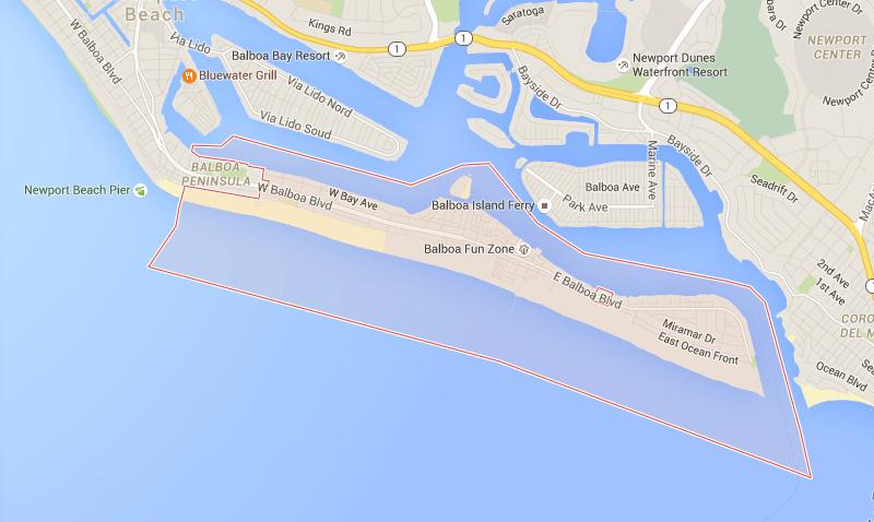 Newport Beach property in 92661 zip code