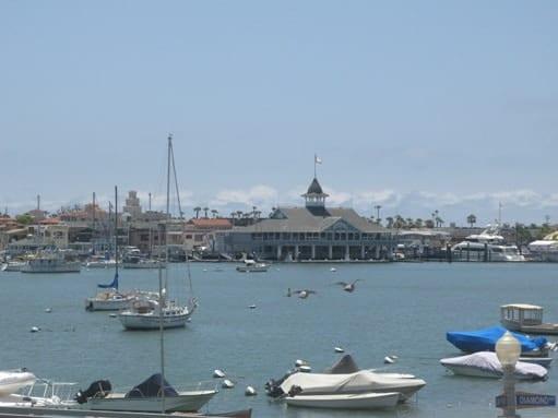 Balboa Pavilion in Newport Beach