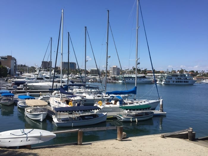 Newport Harbor in Newport Beach
