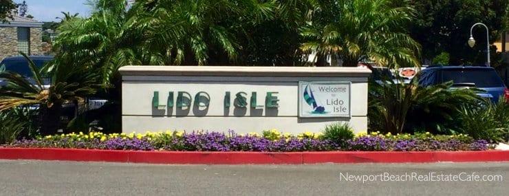 Lido Isle in Newport Beach