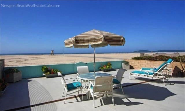 Newport Beach oceanfront home for salw