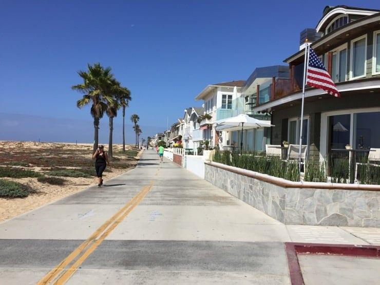 Newport Beach oceanfront homes