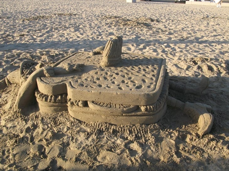 Corona del Mar Sandcastle Contest
