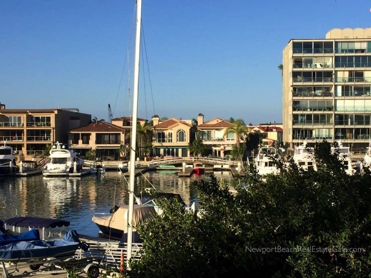 Newport Beach homes with boat slips