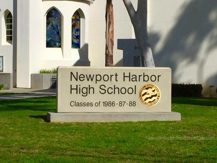 Newport Harbor High School near Cliffhaven