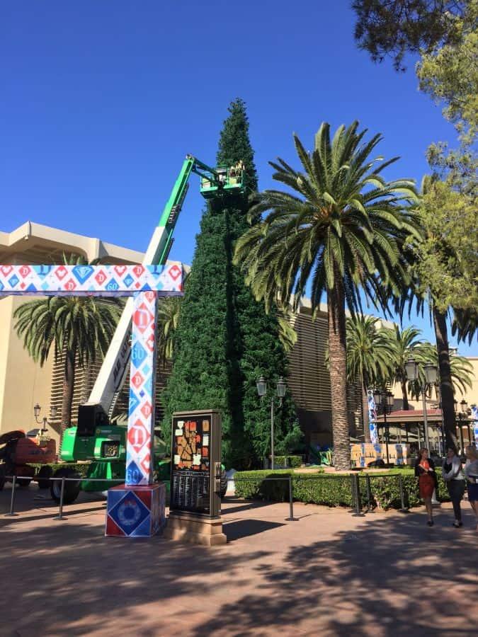 Christmas tree at fashion island 42