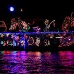 108th Newport Beach Christmas Boat Parade and Ring of Lights