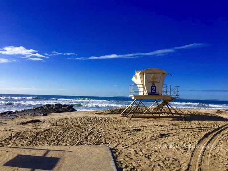 Huntington Beach lifeguard tower