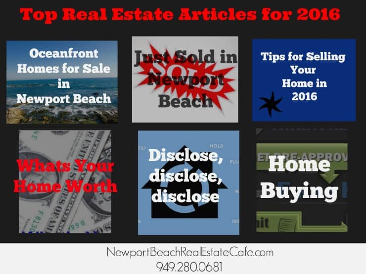 Top real estate articles 2016