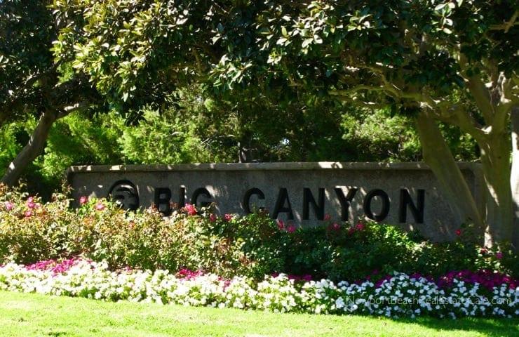 Big Canyon Deane in Newport Beach CA