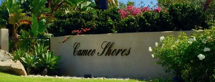 Cameo Shores homes in Corona del Mar