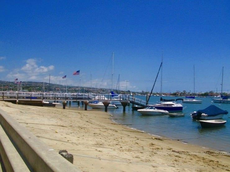 Balboa Island homes in Newport Beach CA