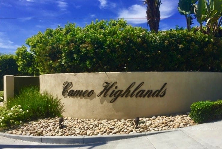 Cameo Highlands homes for sale Corona del Mar