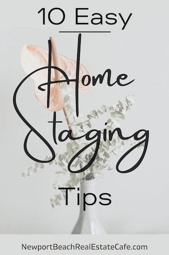 10 easy home staging tips