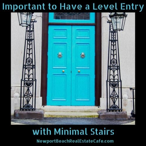 level entry to home for aging in place
