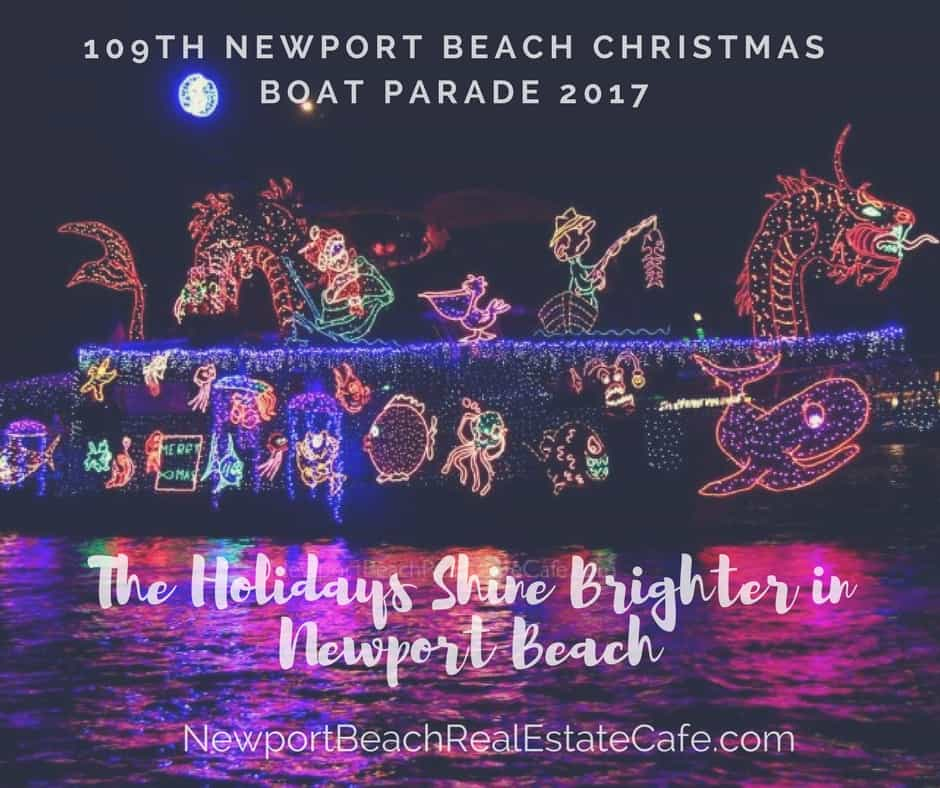 109th Newport Beach Christmas Boat Parade and Ring of Lights
