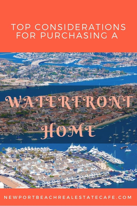 Top Considerations for purchasing a waterfront home