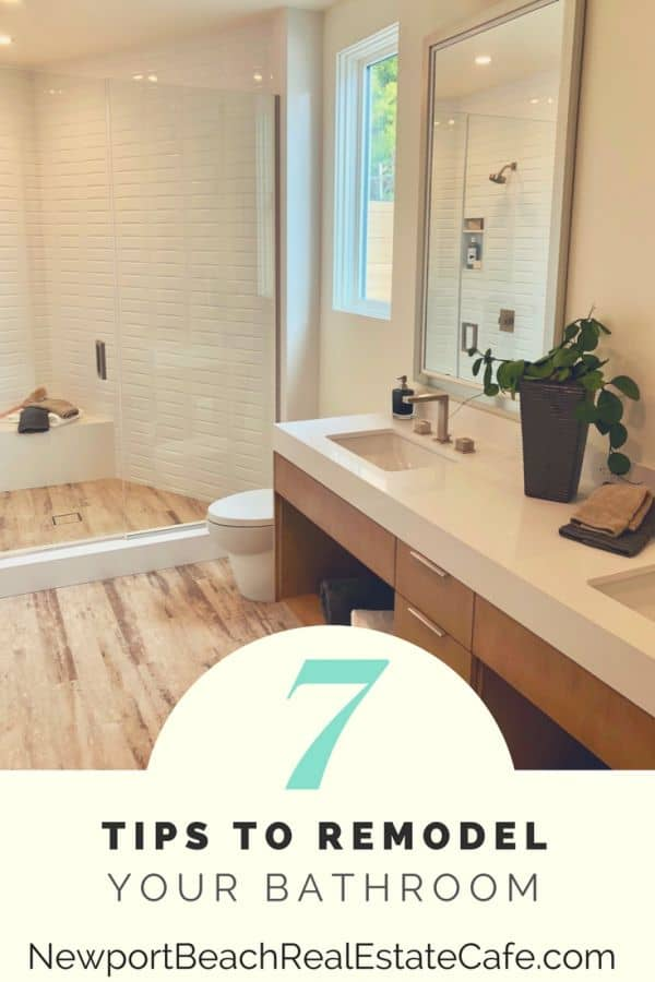7 tips to remodel your bathroom