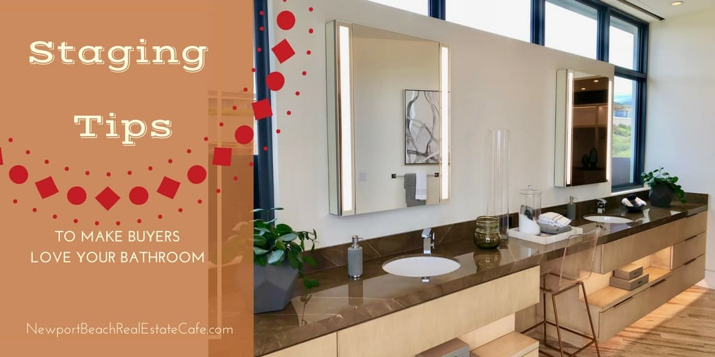 staging tips for your bathroom