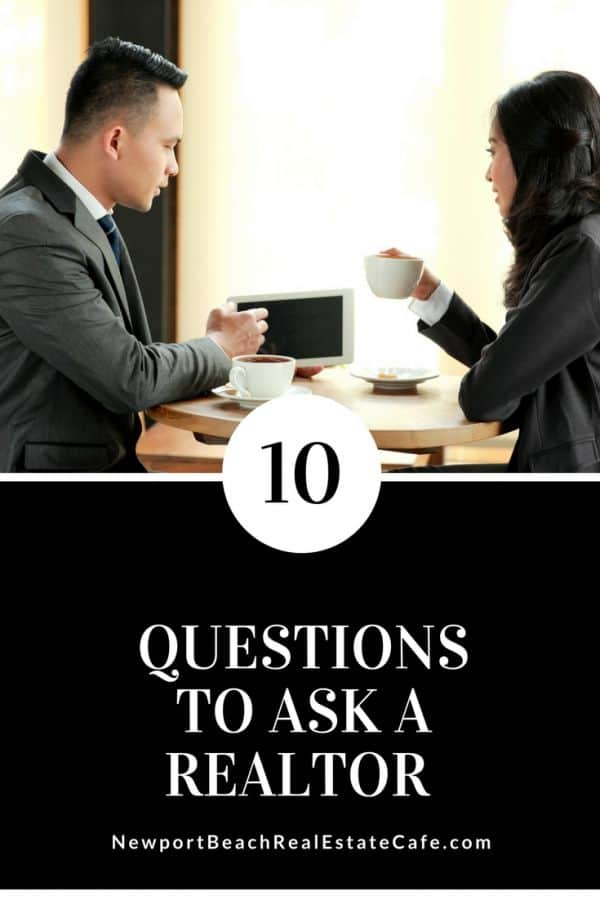 10 Questions to Ask a Realtor