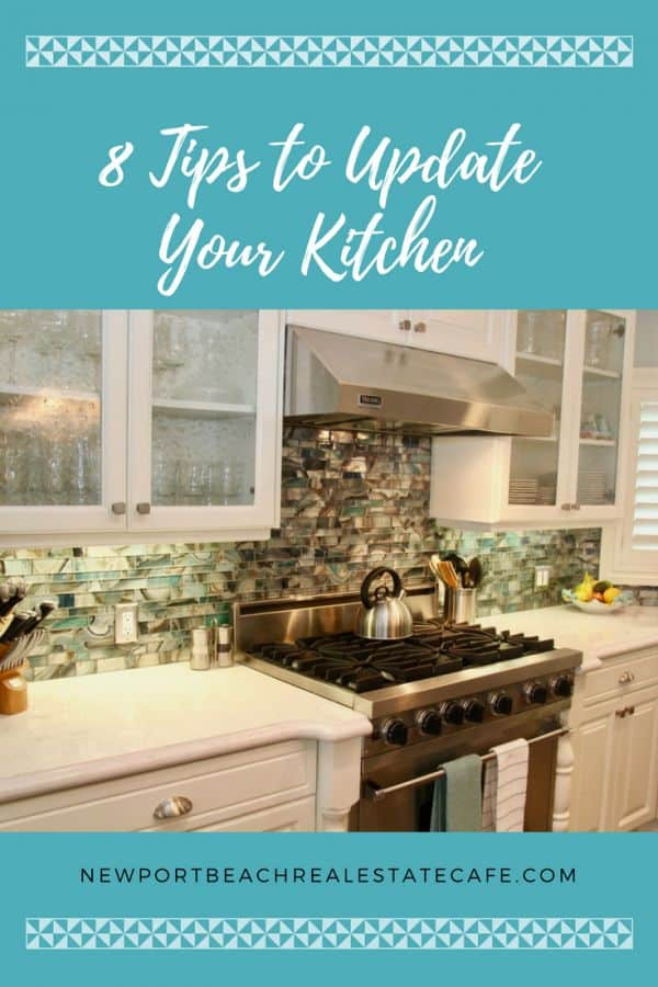8 Tips to Update Your Kitchen