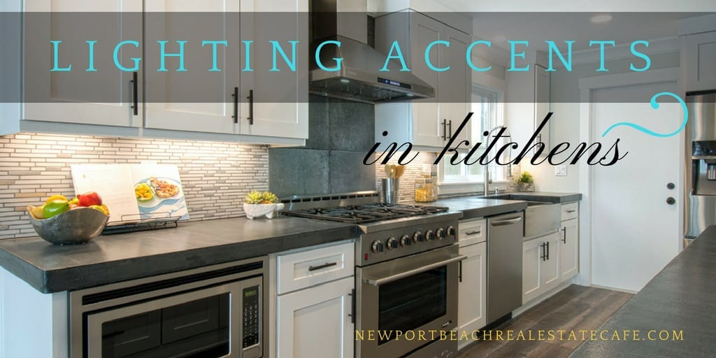 lighting accents in kitchens