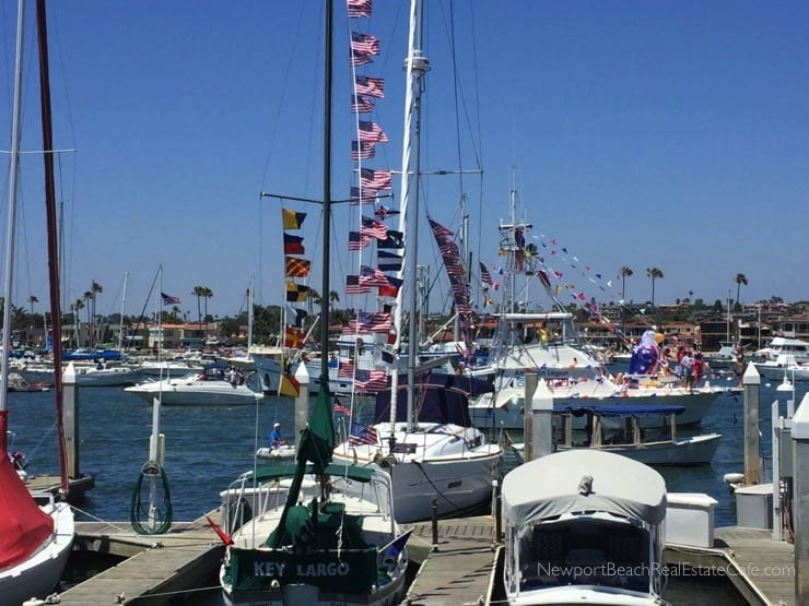 Fourth of July in Newport Beach CA