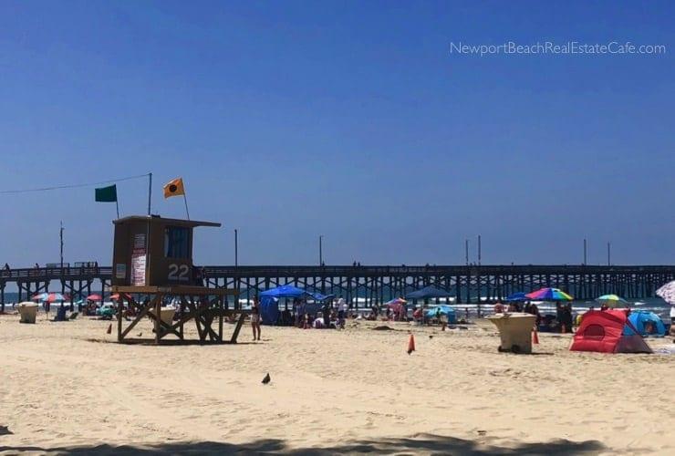 Fourth of July in Beach - Newport Beach Pier