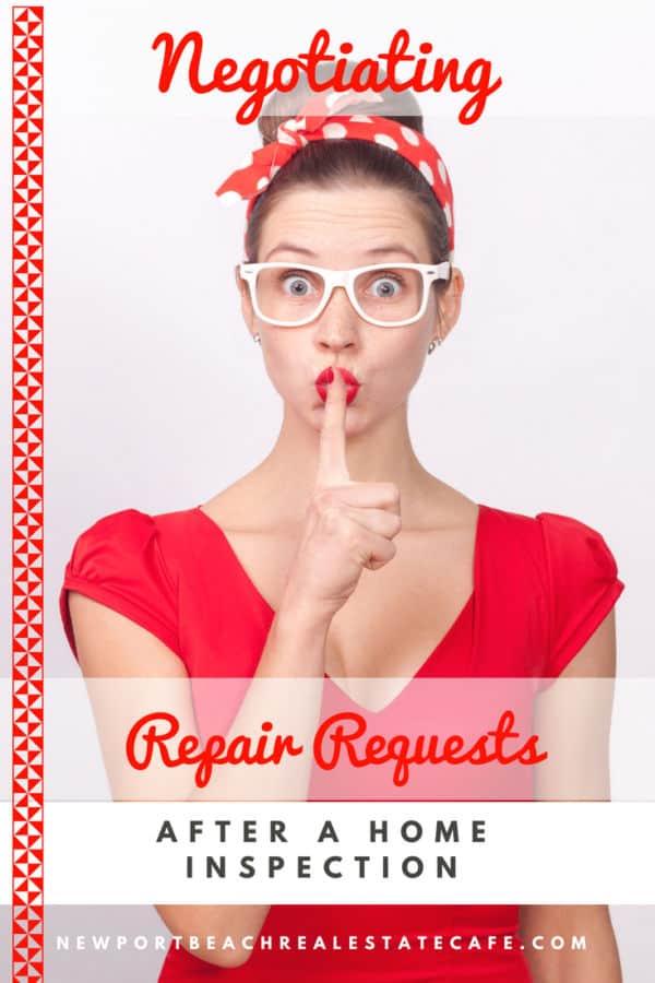 Negotiating Repair Requests