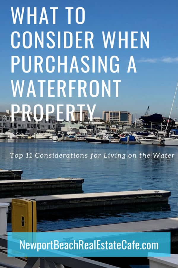 11 Things To Consider When Purchasing Waterfront Property