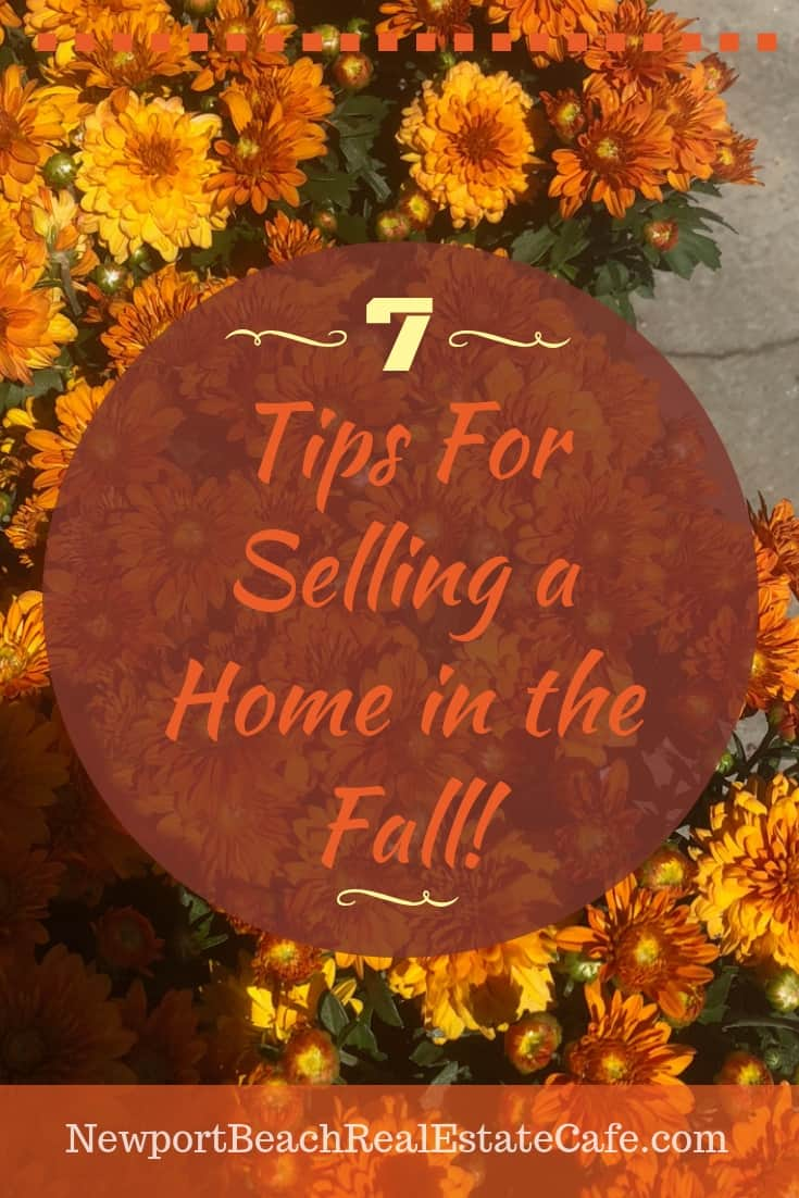 Top 7 Tips to Sell Your Home in the Fall
