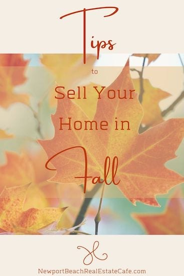 Tips for Selling Your Home in the Fall