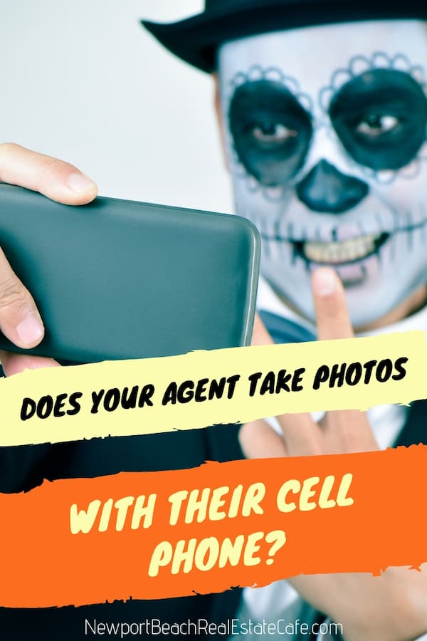 does your agent take pictures with a cell phone