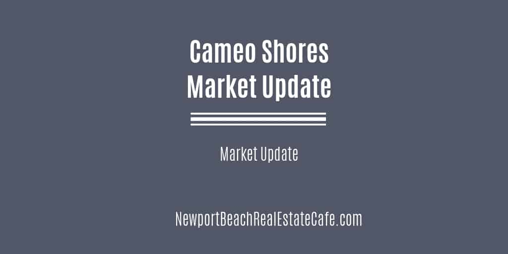 Cameo Shores Market Update