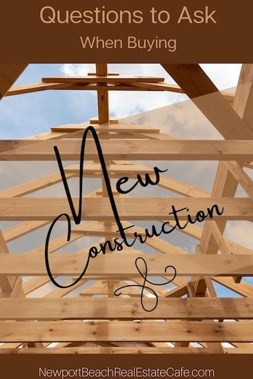 Questions to Ask When Buying New Construction