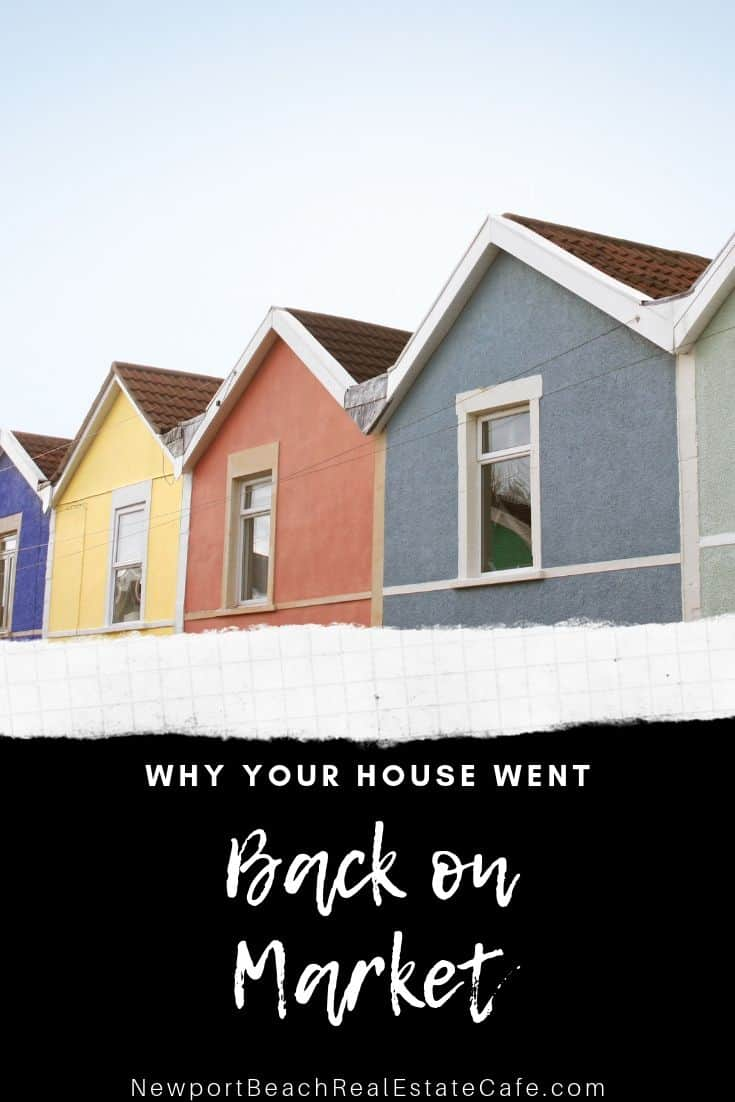 Reasons your Home went Back on Market After a Home Inspection