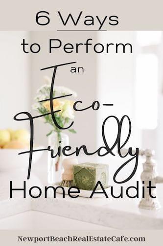 eco-friendly home audit
