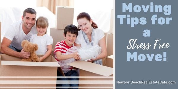 Moving Tips for a stress free move