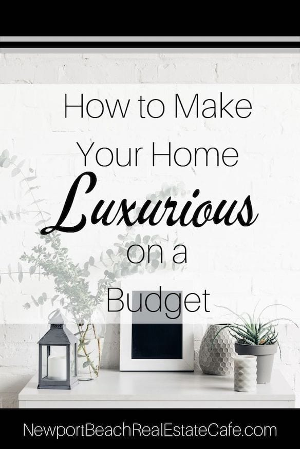 How to Make Home Luxurious