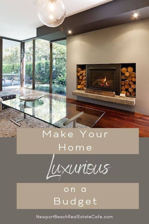 Make your home luxurious on a budget